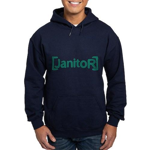 Scrubs Janitor Hoodie (dark)
