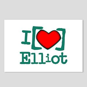 I Heart Elliot Postcards (Package of 8)