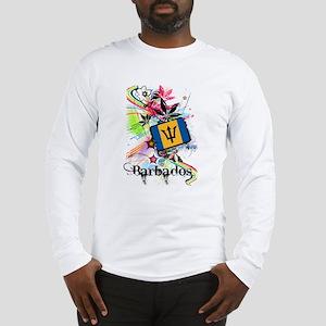 Flower Barbados Long Sleeve T-Shirt