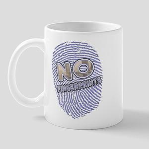 No Finger Prints -T-Shirt Mug