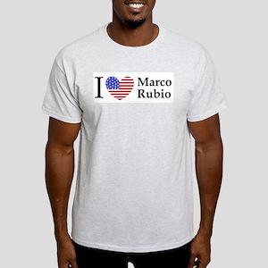 I Love Marco Rubio Light T-Shirt