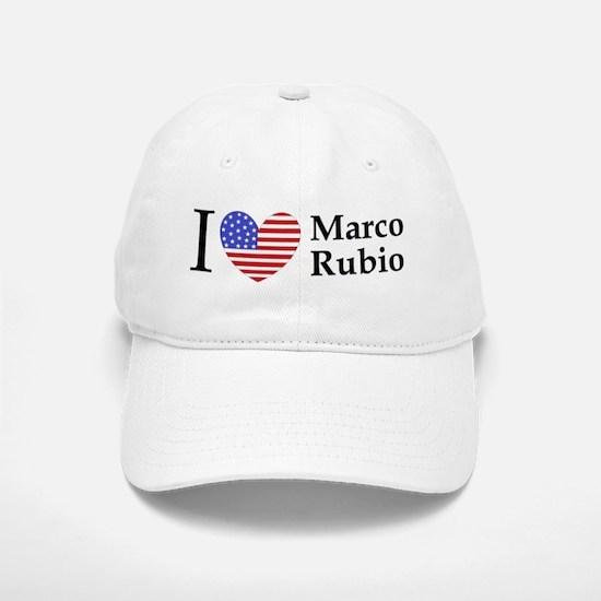 I Love Marco Rubio Baseball Baseball Cap