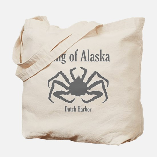 King of Alaska- Tote Bag