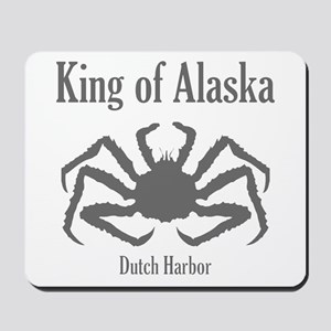 King of Alaska- Mousepad