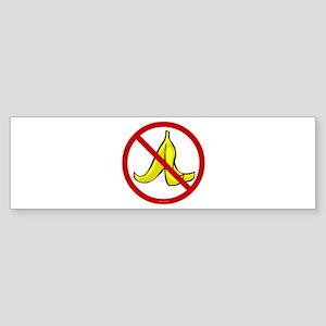 No Banana Peels - Sticker (Bumper)