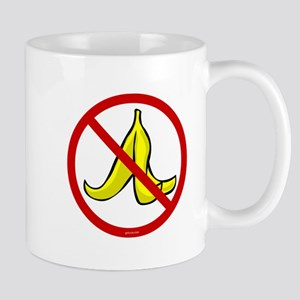 No Banana Peels - Mug