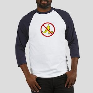 No Banana Peels - Baseball Jersey