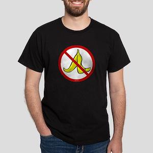 No Banana Peels - Dark T-Shirt