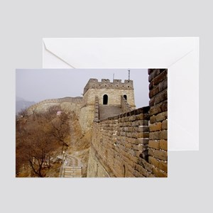 Great Wall Panorama Greeting Cards (Pk of 10)