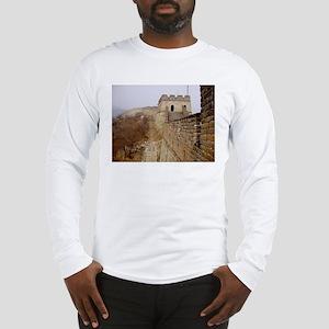 Great Wall Panorama Long Sleeve T-Shirt