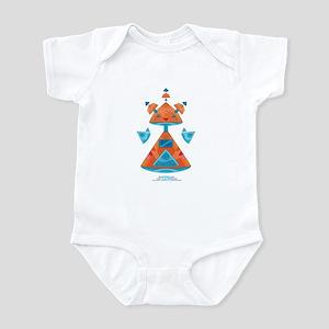 Kawaii Robot 00110011 Infant Bodysuit