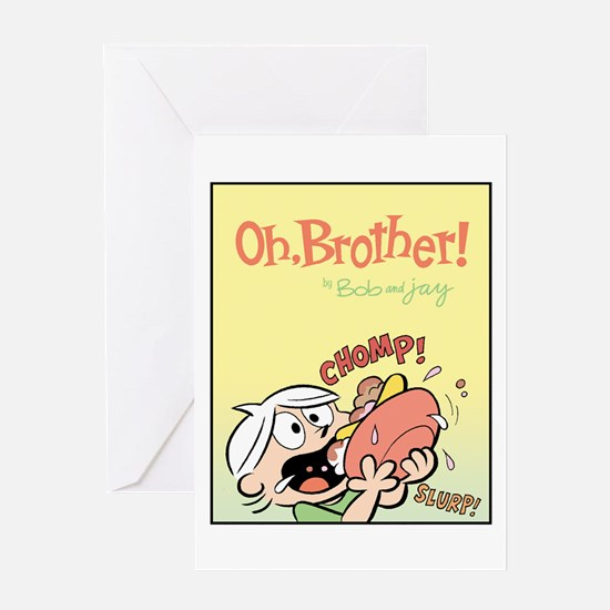 Hungry Bud Greeting Card