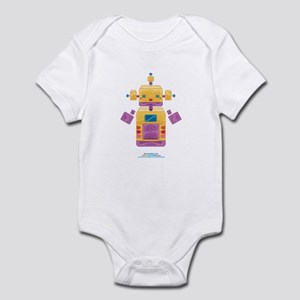 Kawaii Robot 00110100 Infant Bodysuit