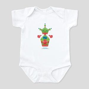 Kawaii Robot 00110101 Infant Bodysuit