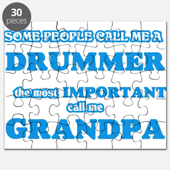 Some call me a Drummer, the most important Puzzle