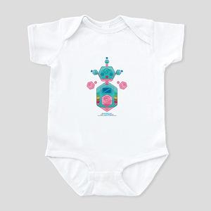 Kawaii Robot 00110110 Infant Bodysuit