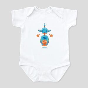 Kawaii Robot 00110111 Infant Bodysuit