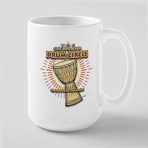 Cleveland Drum Circle Large Mug