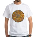 Celtic Crescents White T-Shirt