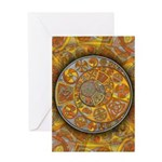 Celtic Crescents Greeting Card