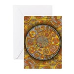 Celtic Crescents Greeting Cards (Pk of 10)