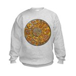 Celtic Crescents Kids Sweatshirt