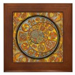 Celtic Crescents Framed Tile