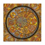 Celtic Crescents Tile Coaster