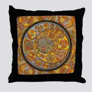 Celtic Crescents Throw Pillow