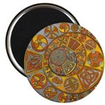 Celtic Crescents Magnet