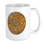 Celtic Crescents Large Mug