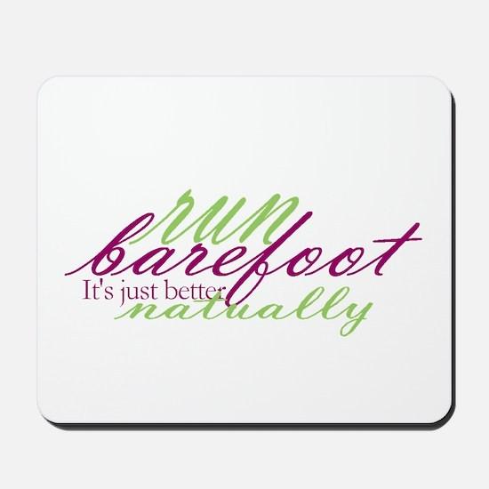 Barefoot Running Mousepad