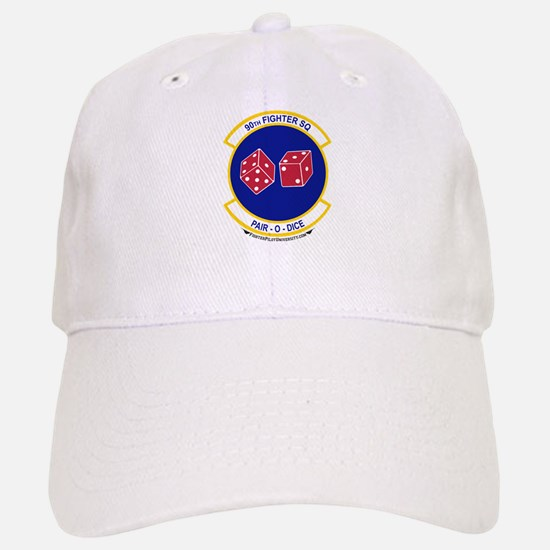 90th FS Baseball Baseball Cap