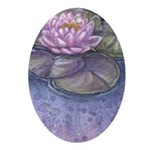 Lily Ornament (Oval)