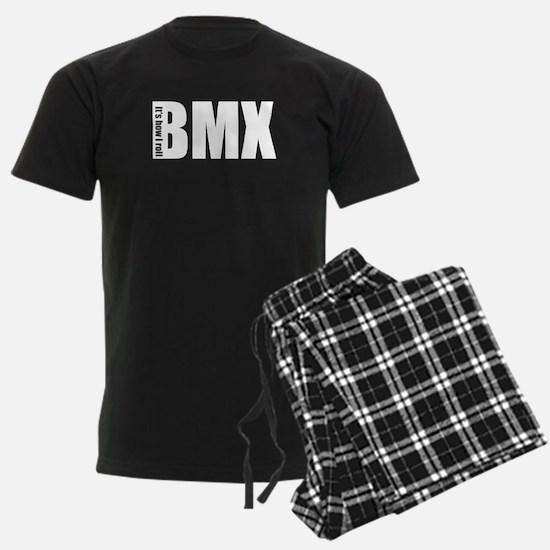 bmx how i roll black Pajamas