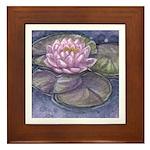 Lily Framed Tile