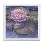 Lily Tile Coaster