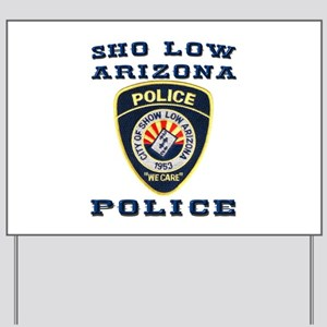 Show Low Police Yard Sign