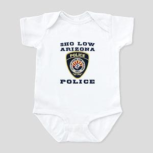Show Low Police Infant Bodysuit