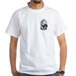 Male Chastity White T-Shirt