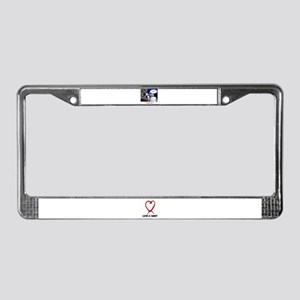 VALENTINES DAY (MISS YOU LOOK) License Plate Frame