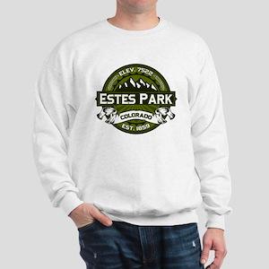 Estes Park Olive Sweatshirt