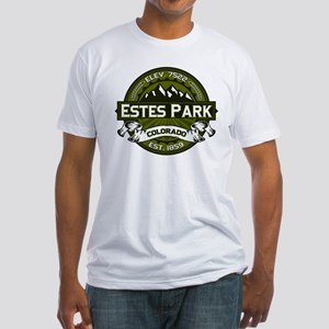 Estes Park Olive Fitted T-Shirt