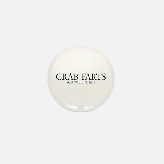 Crab Farts Mini Button