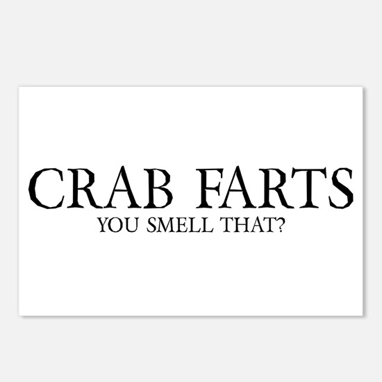 Crab Farts Postcards (Package of 8)