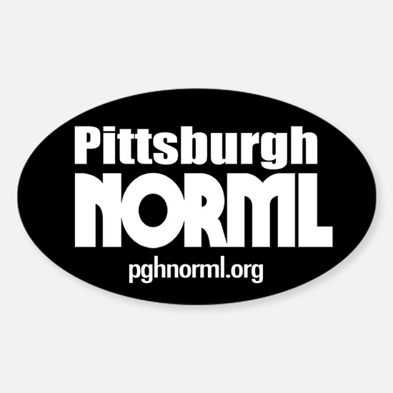 PghNORML-425oval_trans Decal