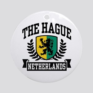 The Hague Netherlands Ornament (Round)