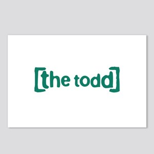 The Todd Postcards (Package of 8)
