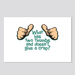 Two Thumbs Postcards (Package of 8)