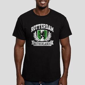 Rotterdam Netherlands Men's Fitted T-Shirt (dark)